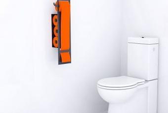 patricq ou la d co en papier toilette paperblog. Black Bedroom Furniture Sets. Home Design Ideas