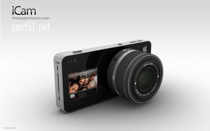 iCam, un appareil photos piloté par l'iPhone!