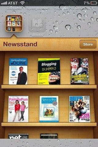 [MAJ]''Lutrin'' ou ''Bookstand'', fusionnez les apps iBooks et Kiosque sur iPhone ou iPad...
