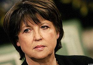 martine aubry reference