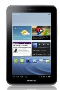 Samsung sort sa tablette Galaxy Tab 2.0