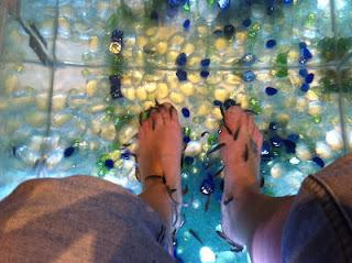 J'ai testé la FISH PEDICURE
