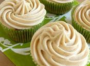 deal with cold weather Chai Maple Brown Butter Zucchini Cupcakes Cream Cheese Frosting!