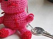 porte-clés chat crochet+explications