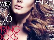 Adele montre décolleté pour magazine VOGUE