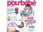"""L'abat-jour Tendresse monochrome dans magazine """"Pourbébé"""""""