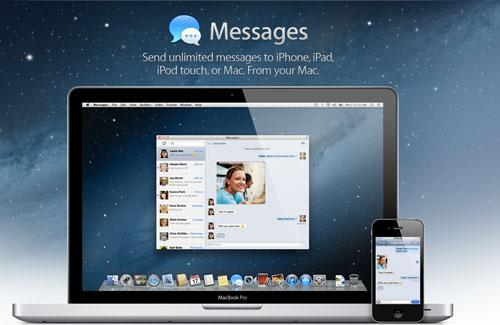 Mac OS X Lion Mountain: iMessage à télécharger en version bêta