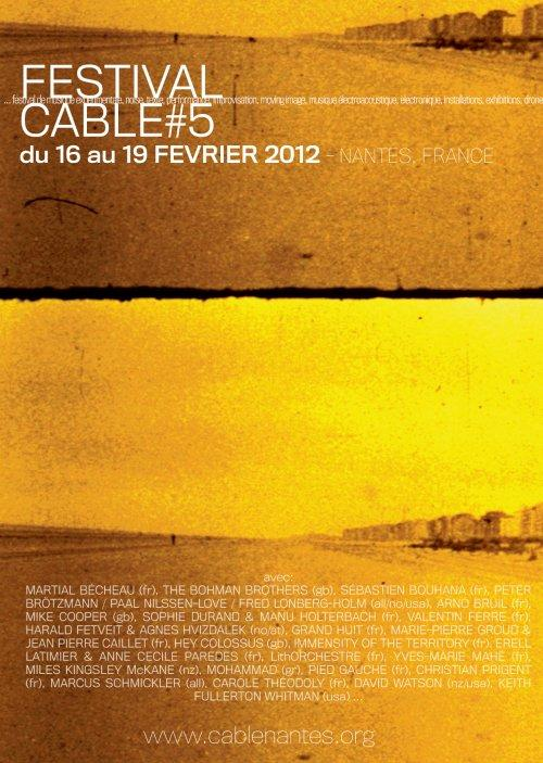 FESTIVAL CABLE#5