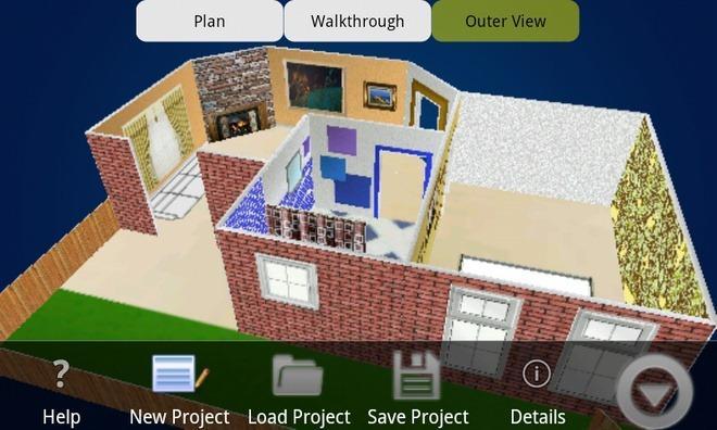 une application android pour la modlisation de maison en 3d - Application Pour Plan De Maison