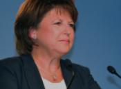 Martine Aubry «Sarkozy fait campagne pâquerettes»
