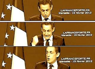 Sarkozy: le grand cirque du candidat du peuple du Fouquet's