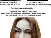 Nicolas Sarkozy prêt lancer opération d'envergure contre Anonymous