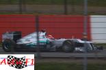 Mercedes déjà essais