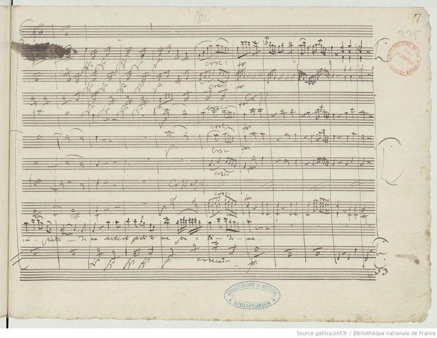 "Le manuscrit de ""Don Giovanni"""