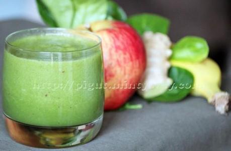 Smoothie d'hiver aux fruits et légumes