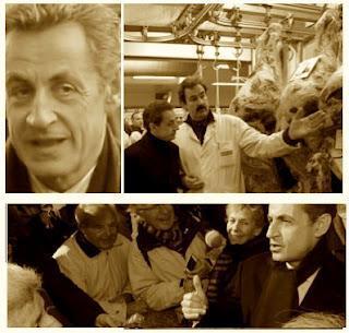 Sarkozy: la surdose d'images et de mise en scène.