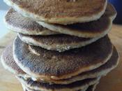 Pancake SANS OEUF l'okara,purée noisettes,tofu soyeux