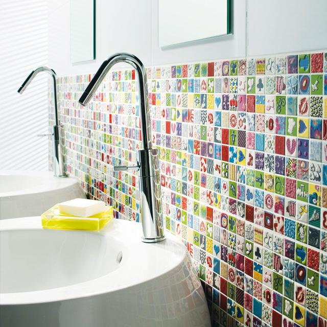 Emejing Salle De Bain Mosaique Couleur Contemporary - Awesome ...