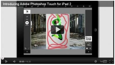 News : Adobe Photoshop Touch disponible sur iPad
