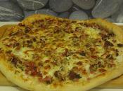 Plat: Pizza Maison Mozza, Poivrons Boeuf