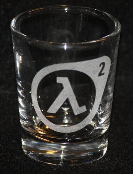 verres halflife gnd geek Découvrez les verres Geek de Fanboyglass produits geek  geek gnd geekndev