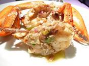 Butter, black pepper crabs Crabes beurre poivre noir