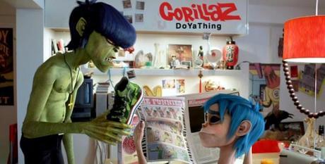gorillaz 600x304 DOYATHING : le dernier clip de Gorillaz feat Andre 3000 et James Murphy