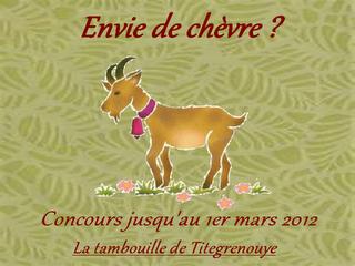Les participantes au concours : Envie de chèvre ?