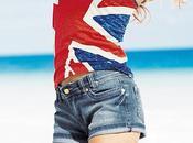 """Geri Halliwell sort Collection prêt porter d'inspiration """"Union Jack"""": l'emblématique drapeau Royaume-Uni!"""
