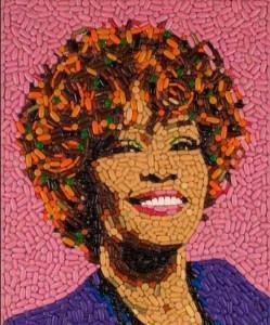 Portrait de Whitney Houston