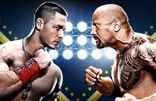 L'un des combats choc de ce Wrestlemania 28 John Cena Vs. The Rock