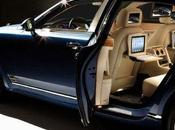 Bentley Mulsanne, option iPad...
