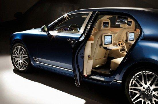 Bentley Mulsanne, option iPad...