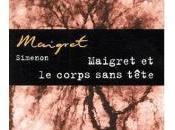 Maigret corps sans tête