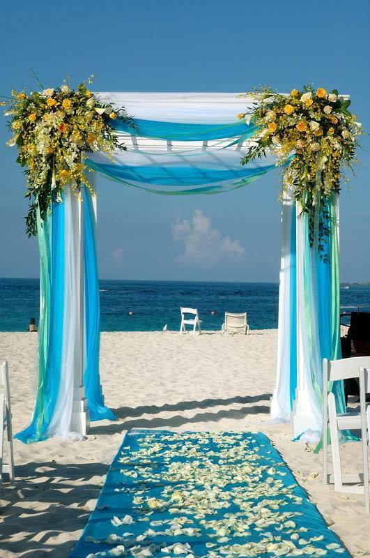 Connu Quelques arches pour une décoration de mariage en exterieur | À  FU39