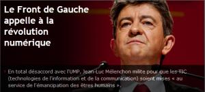 #Présidentielle2012 : le Front de Gauche appelle à la révolution numérique !