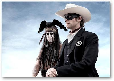 Lone Ranger : 1e photo de Johnny Depp en Indien au corbeau