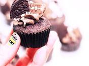 Minis cupcakes choco, cream cheese Oreo