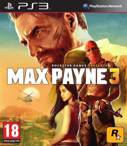 max payne 3, jaquette, ps3