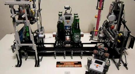 machine biere lego gnd geek Une machine à bière en LEGO geekart  geek gnd geekndev