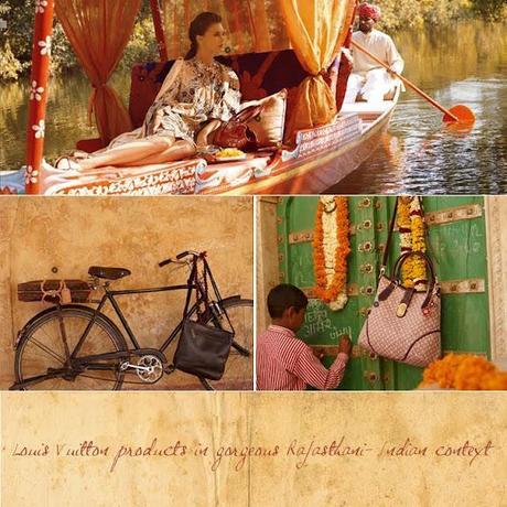 Les couleurs de l'Inde par Louis Vuitton