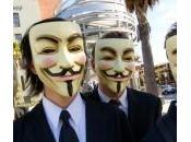 Entre stratégie Guerre l'Information, Anonymous peuvent-ils tomber masque