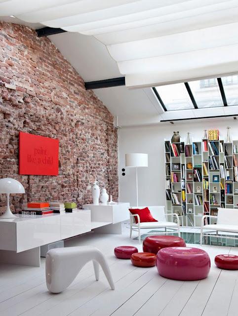 d coration loft atelier bastille paperblog. Black Bedroom Furniture Sets. Home Design Ideas