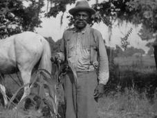 Portrait d'anciens esclaves