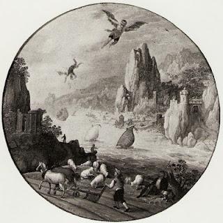 La chute d'Icare de Pierre Breughel l'ancien (Bruegel) - Paperblog