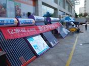 Chine forcée dédouaner panneaux solaires américains