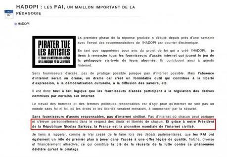 Vers une HADOPI du Jihad ou le jour où Nicolas Sarkozy a baissé son pantalon face au terrorisme