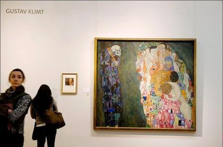 800 oeuvres de Klimt sont exposées à Vienne. Ici <i alt=
