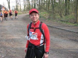 Alain willems giao eco-trail paris 80 km 2012