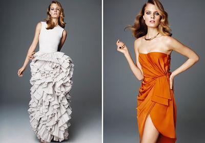 2 robes de la collection H&M Conscious